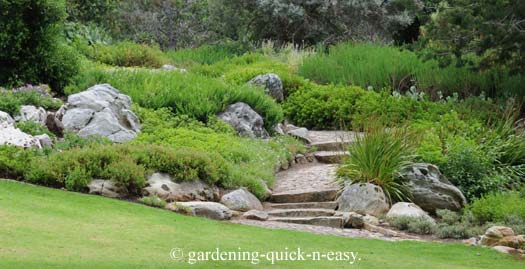 Bl landscaping design low maintenance for Rock garden designs images